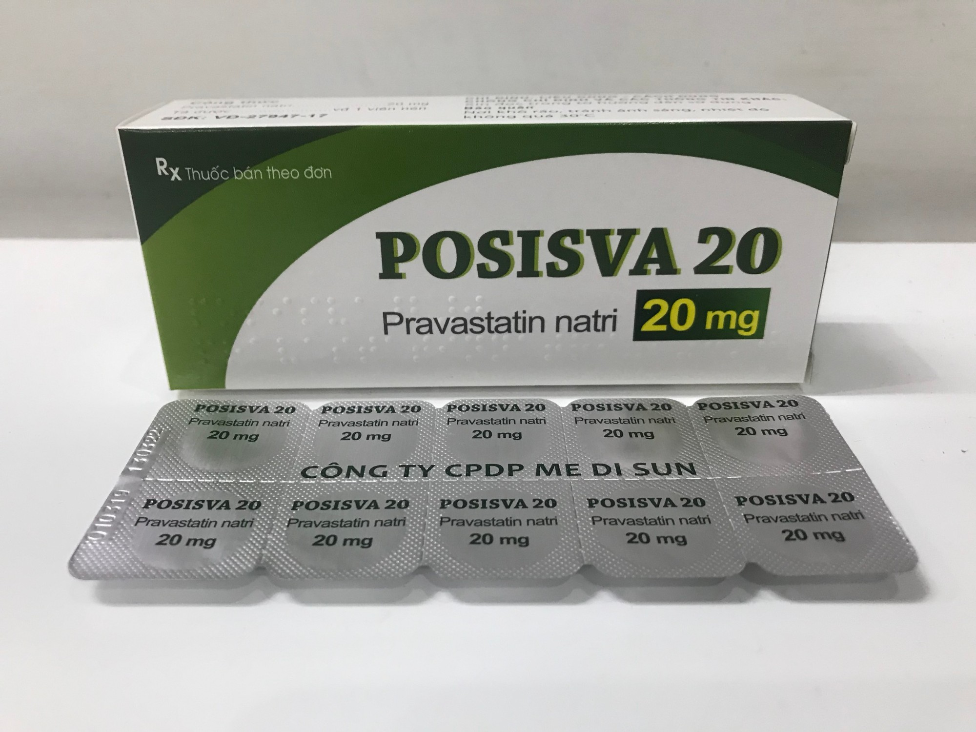 POSISVA 20 (Pravastatin 20mg)