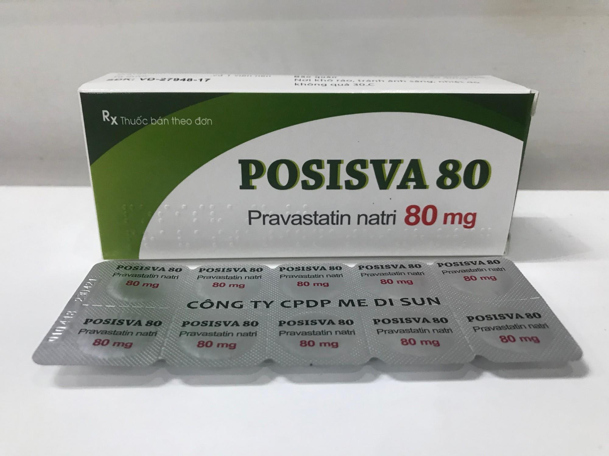 POSISVA 80 (Pravastatin 80mg)