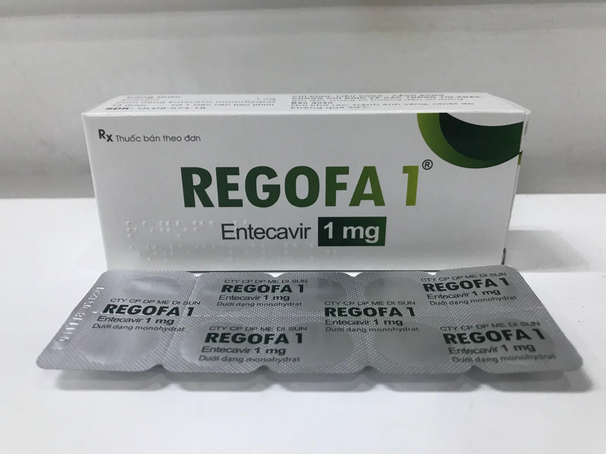 REGOFA 1 (Entecavir 1mg)
