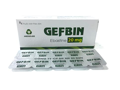 GEFBIN (Ebastine 20mg)