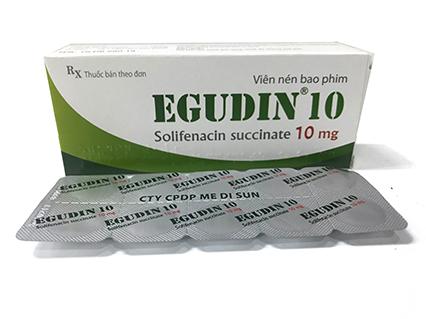 EGUDIN 10 (Solifenacin 10mg)