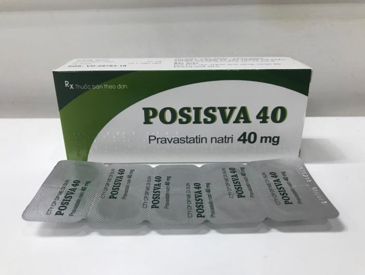 POSISVA 40 (Pravastatin 40mg)