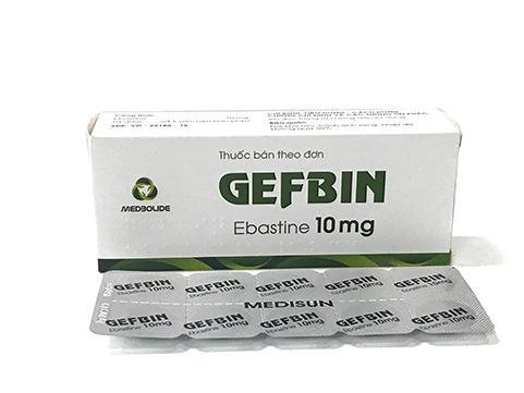 GEFBIN (Ebastine 10mg)