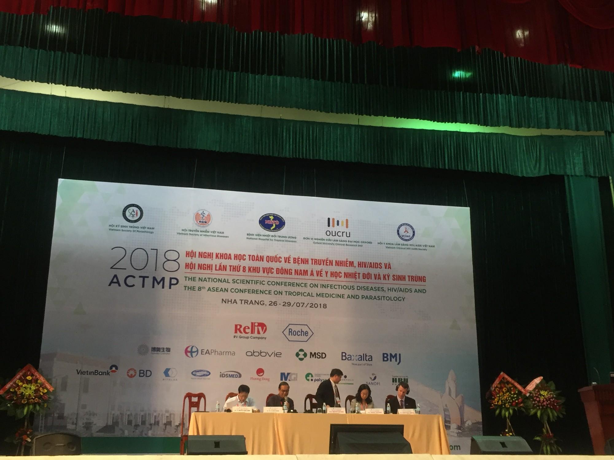 Hội nghị khoa học toàn quốc về bệnh truyền nhiễm, HIV/AIDS & Hội nghị lần thứ 8 khu vực Đông Nam Á về Y học Nhiệt đới và Kí sinh trùng năm 2018