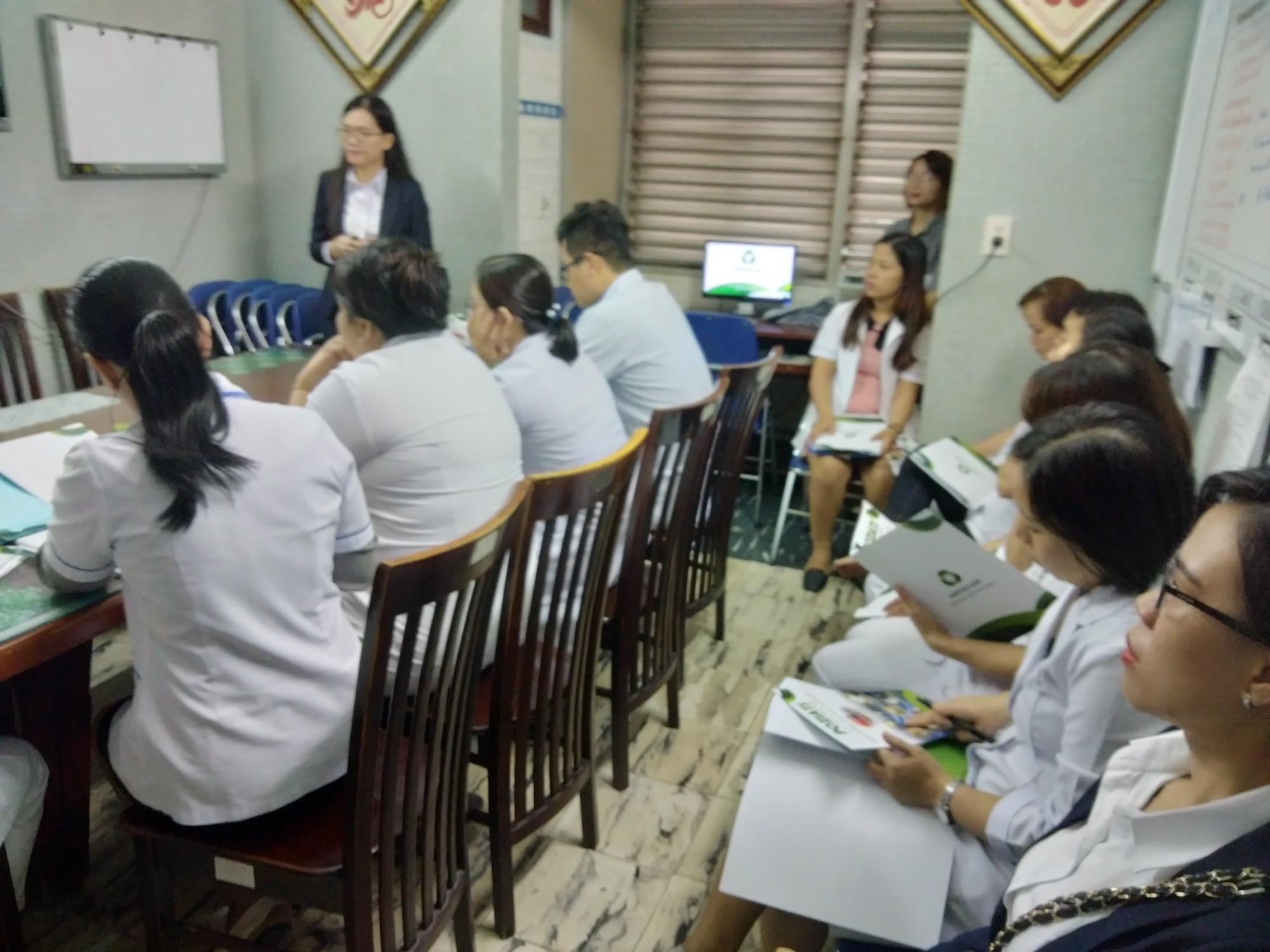 Báo cáo POZIATS - Khoa Nội TK, BV Thống Nhất