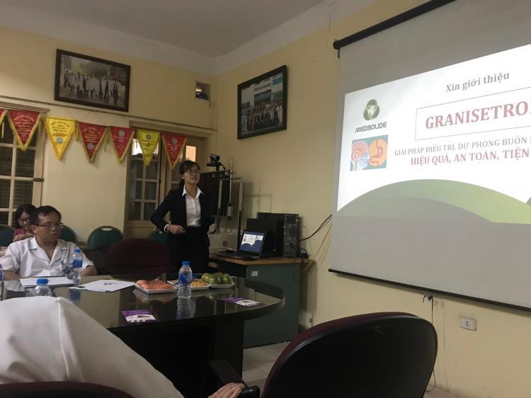 Báo cáo GRATRONSET – Trung Tâm Y Học Hạt nhân và Ung bướu, BV Bạch Mai Hà Nội