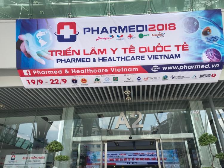 Triển lãm Y tế Quốc tế Việt Nam lần thứ 13 – PHARMED & HEALTHCARE VIETNAM 2018 - Hội Doanh nghiệp Dược